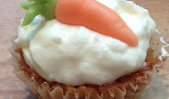I cupcakes alle carote di Daniela Bertelli, cake designer