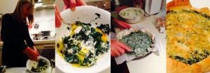 La torta salata spinaci e ricotta di Elena