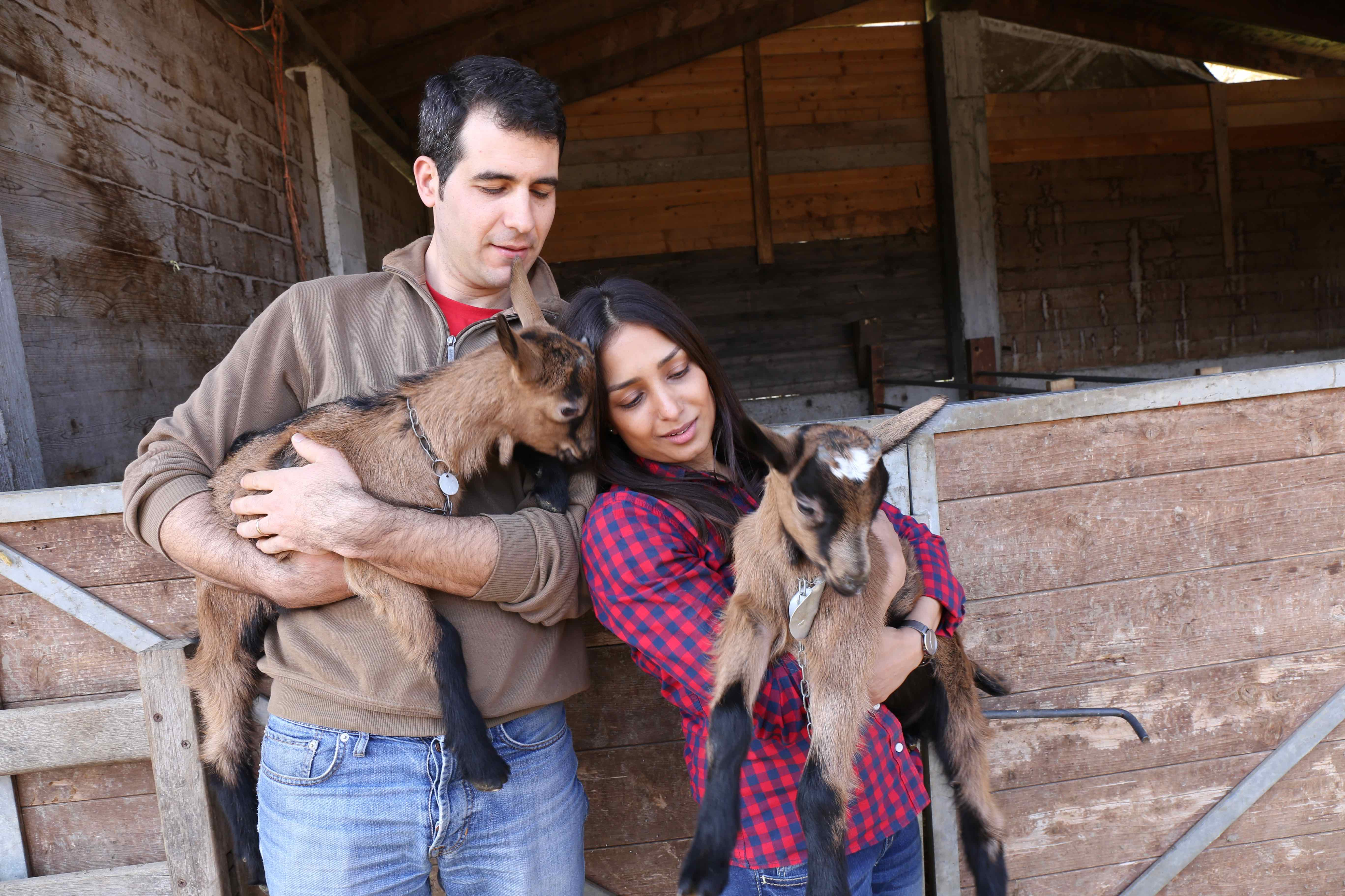 BioBruni: 2 ricette veloci per la primavera a base di….latte di capra